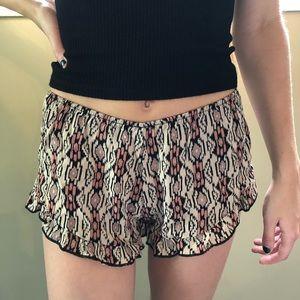 Brandy Melville Flowy Shorts